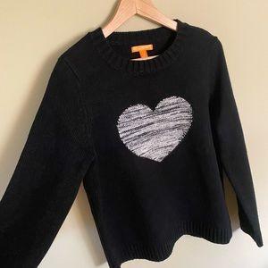 NWOT JOE FRESH Knit Heart Sweater🤍